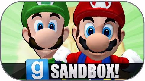 Gmod Sandbox Funny Moments Giant Mario, Extreme Danger, Worst Map, Zoidberg Deaths, Dick Chocolate!