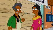 Apu und seine Frau