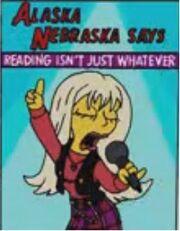 Aleska Nebraska Poster