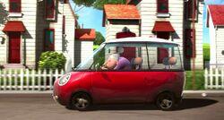 Gertrude driving
