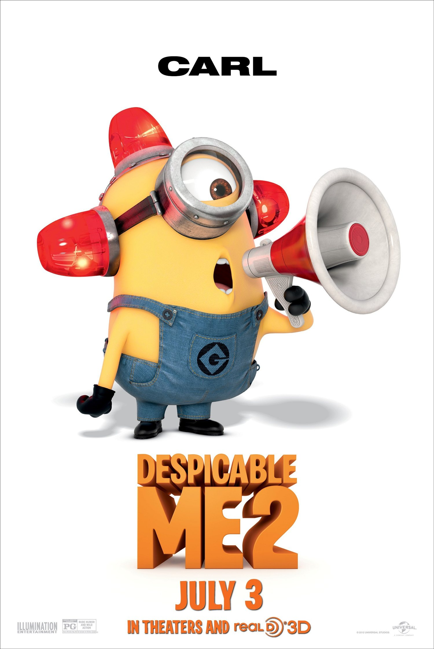 Picture of the minions impremedia despicable me 2 carl the minion posterg biocorpaavc Choice Image