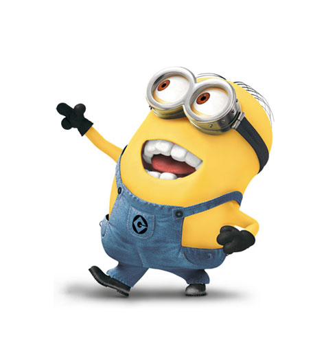 Despicable Me Minions Saying Papoy Image - Minion dave.jp...