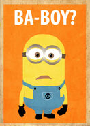 Despicable me minion poster by procastinating-d64kxv9