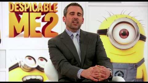 Despicable Me 2 - Steve Carell Explains 3D Animation