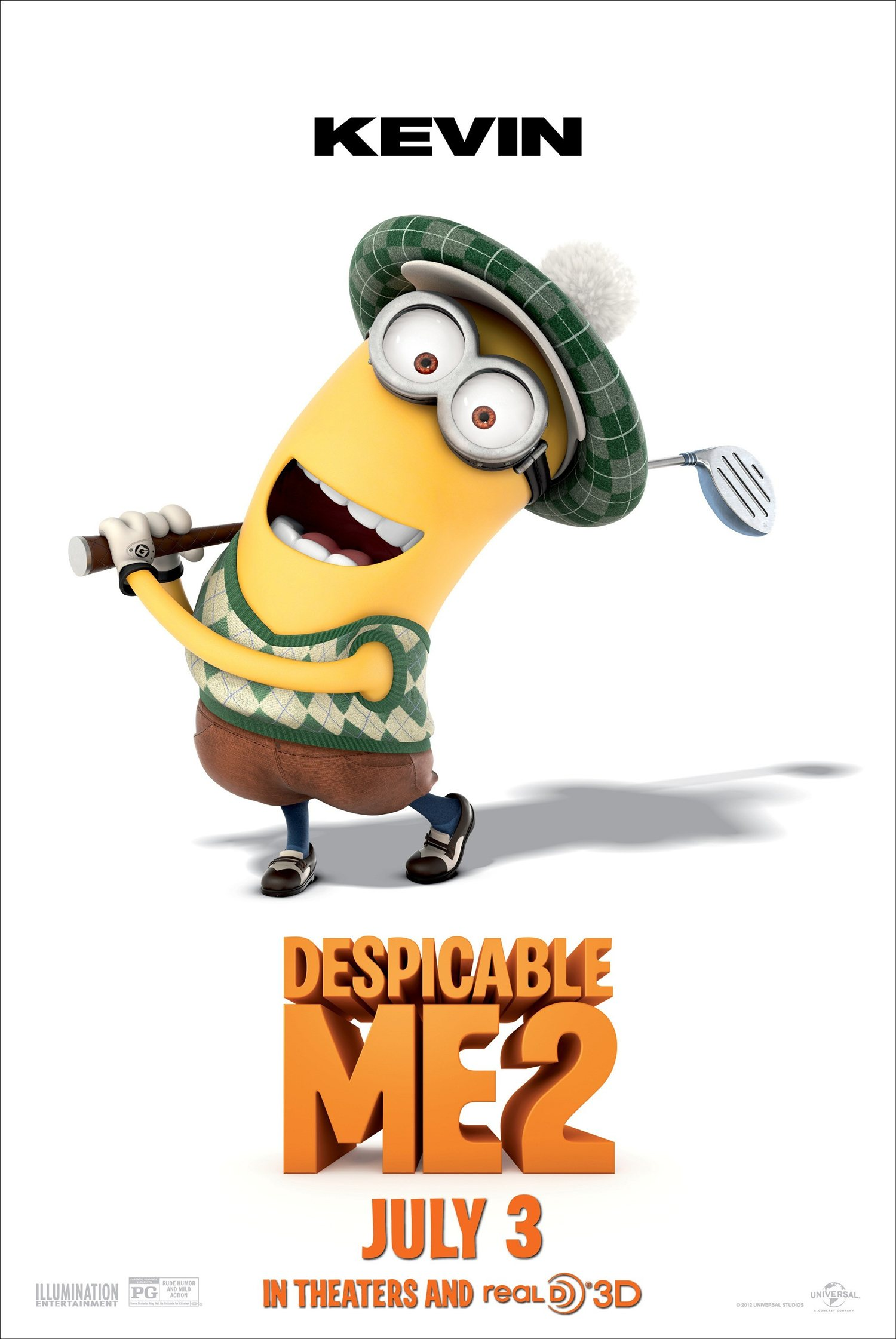 DESPICABLE ME 2 Kevin The Minion Poster