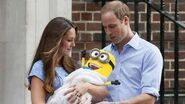 Will and Kate's Child is a Minion???