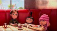 Margo, Edith & Agnes at Breakfast