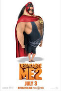 Despicable Me 2 El Macho movie poster