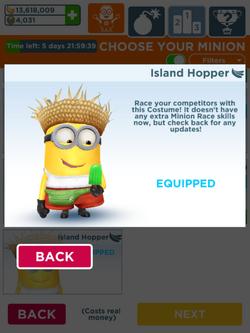 Minion Rush Island Hopper