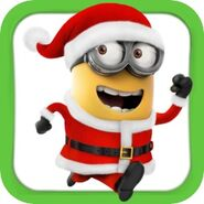 Minion Rush Christmas Icon