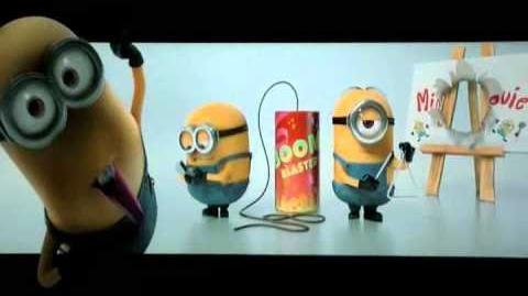 Despicable Me 2 Credit Cut - Lead to Minion Movie Casting