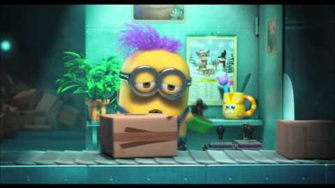 """Despicable Me 2 DVD - """"Panic in the Mailroom"""" Mini-Movie"""