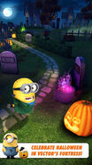Frankenstein Minion at Halloween Vector's Fortress