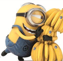 Стюарт с бананами