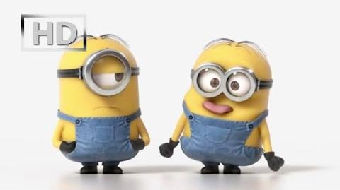 Minions - Stuart & Dave official teaser trailer (2015) Despicable Me 3