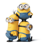 Minions stacked 2