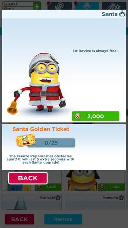 Santa Minion