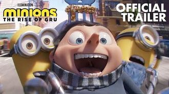 Minions The Rise of Gru - Official Trailer