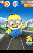 Minion Rush Mega Minion Effect