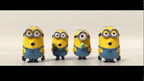 Despicable Me 2 Minions Banana Song (2013) SNSD TTS-2