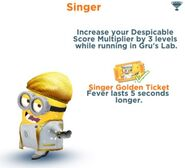 Singer Minion Costume | Despicable Me Wiki | FANDOM powered by Wikia