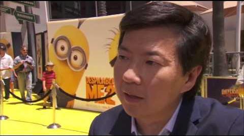 Ken Jeong Interview at Despicable Me 2 Premiere