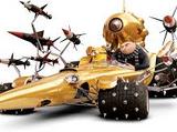 Dru's villain wheels