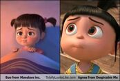 Agnes and boo