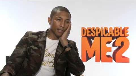 Despicable Me 2 Junket Pharrell CamA h264 hd