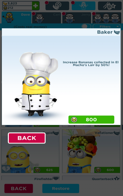 Baker Minion