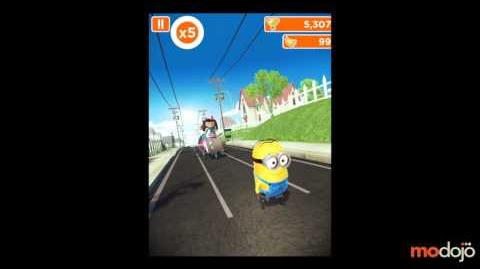 Despicable Me Minion Rush Meena Boss Battle (iPhone iPad)