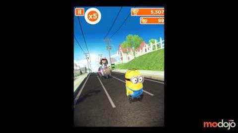 Despicable Me Minion Rush Meena Boss Battle (iPhone iPad)