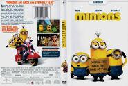 Minions dvd cover