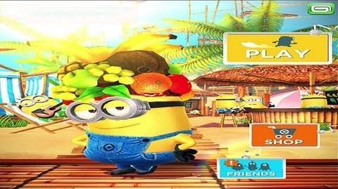 Despicable Me Minion Rush - Minion Beach - Gameplay HD