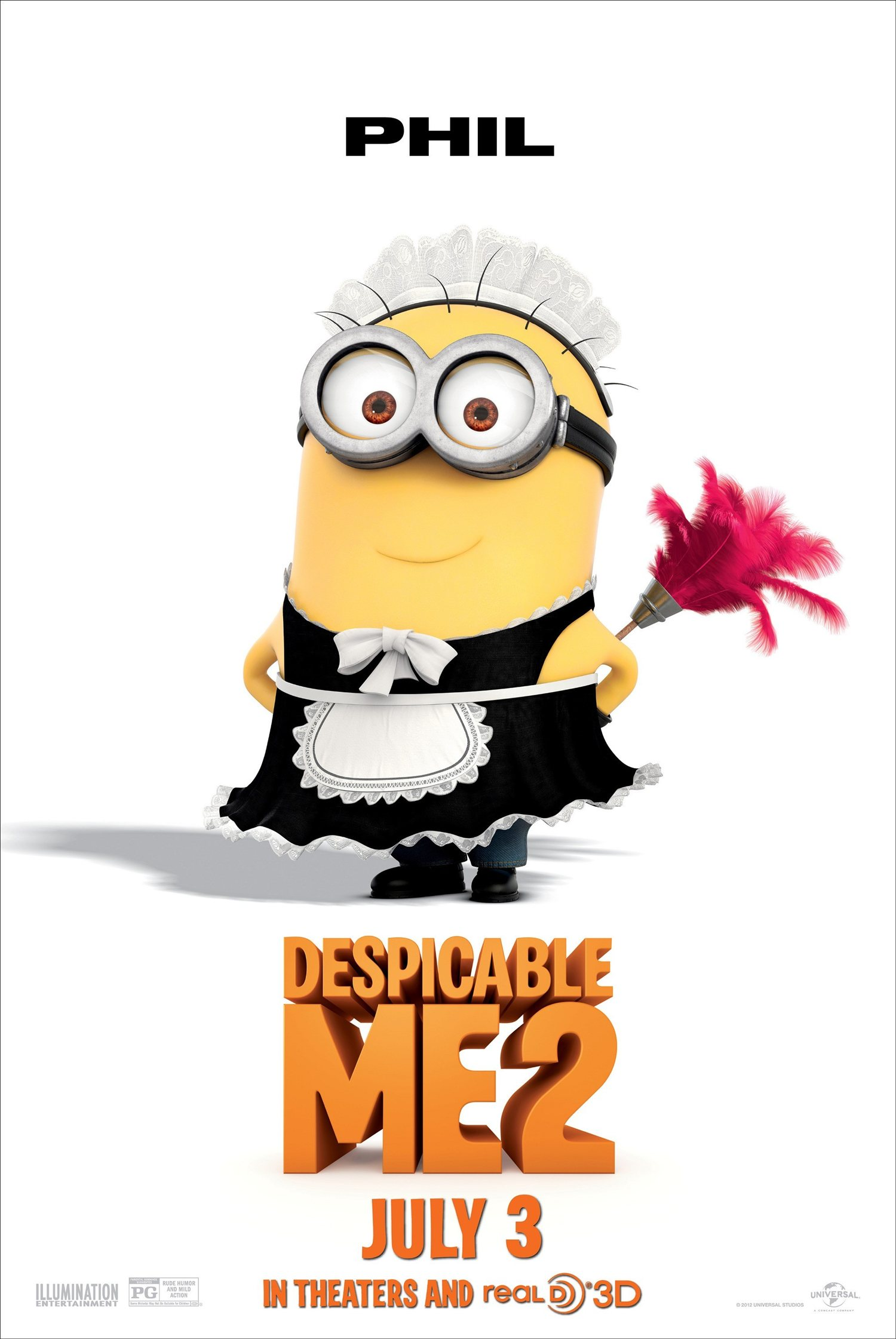 Picture of the minions impremedia despicable me 2 phil the minion posterg biocorpaavc Choice Image