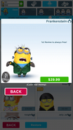 Frankenstein Minion