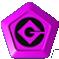 Tokens purple single