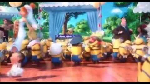 The Minions YMCA Despicable Me 2)