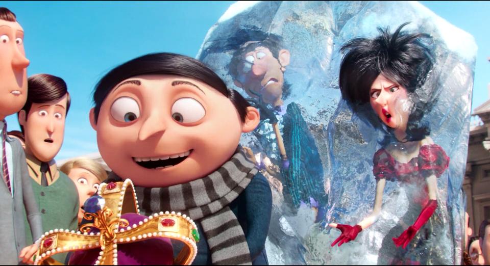 Gru Frozen Mr And Mrs Overkill