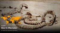 Orang Pendek & Worm Monster