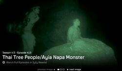 Thai Tree People and Ayia Napa Monster