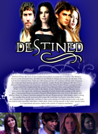 Destined season 1 dvd cover back