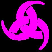 Triqueta rosa