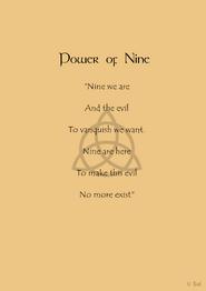 Power of nine page - copyright symbol