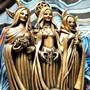 Triple-goddess-statue