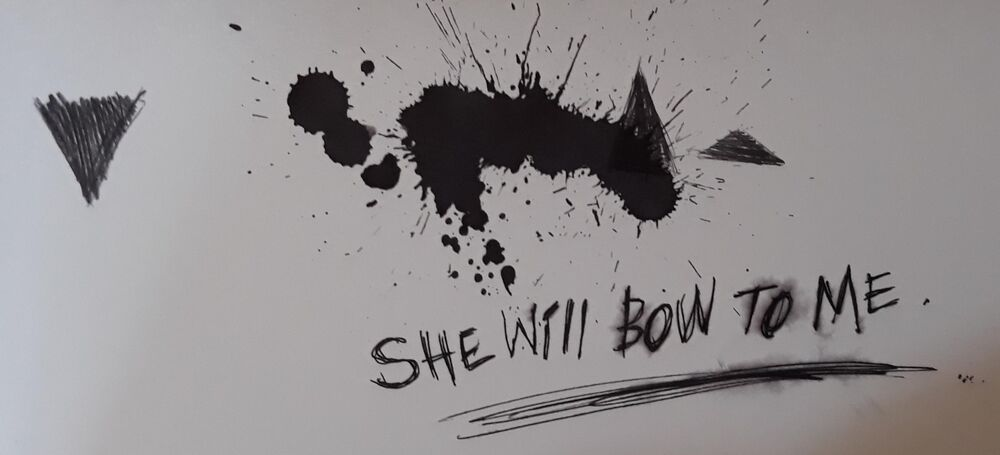 She will bow to me