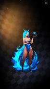 Blue Revenge Girl