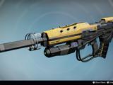 Gewehr der Fremden