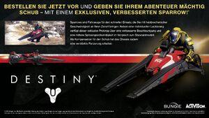 Verbesserter Sparrow Destiny