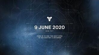 Destiny 2 Reveal Stream